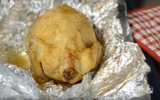 Курица с черносливом в фольге - фото шаг 9