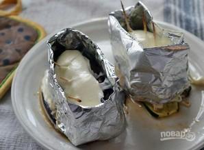 Закуска из печеных овощей с сыром - фото шаг 9