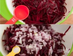 Салат из свеклы с майонезом - фото шаг 4