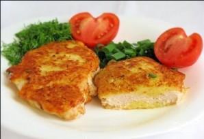 Куриное филе в сырном кляре - фото шаг 6