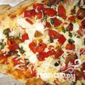 Пицца на гриле - фото шаг 7