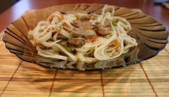 Говядина с рисовой лапшой - фото шаг 5