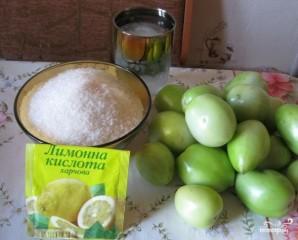 Варенье из зеленых помидоров - фото шаг 1