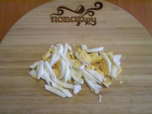 Салат с семечками и курицей - фото шаг 3