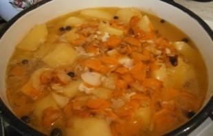 Картофельный соус с курицей - фото шаг 6