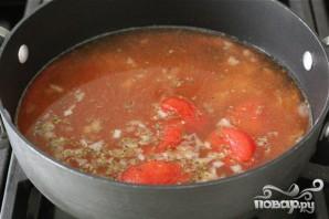 Суп с тортеллини - фото шаг 2