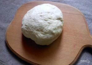 Открытый пирог из дрожжевого теста - фото шаг 3