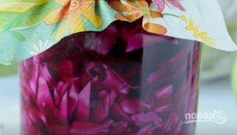 Краснокочанная капуста маринованая - фото шаг 3
