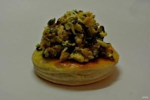 Волованы с салатом из кукурузы и грибов - фото шаг 22