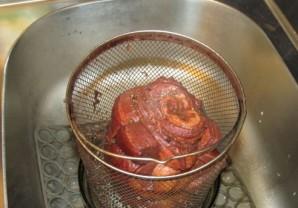 Рулет из свиной брюшины вареный - фото шаг 7