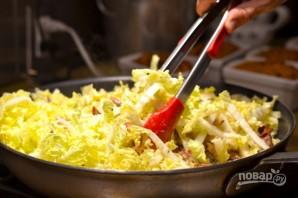 Салат с китайской капустой и сыром - фото шаг 7