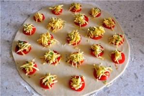 Итальянские булочки с сыром и томатами - фото шаг 3