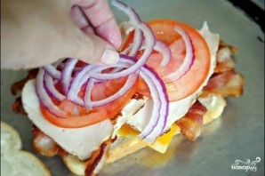 Клубный сэндвич - фото шаг 5