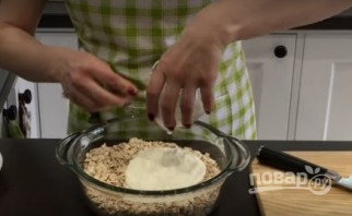 Домашнее овсяное печенье без муки (низкокалорийное)  - фото шаг 1