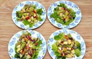 Салат с сельдереем стеблевым - фото шаг 6
