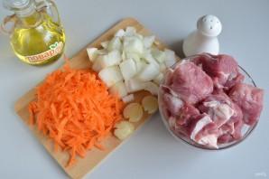 Плов со свининой в духовке - фото шаг 2