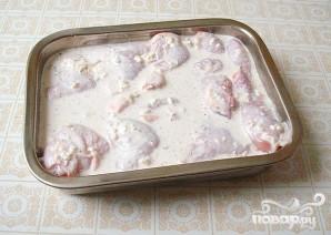 Курица в сметанно-сырном соусе - фото шаг 3