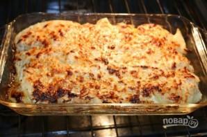 Картофельная запеканка с двумя видами сыра - фото шаг 9