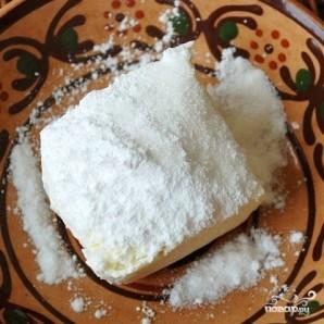 Снеговик из творога - фото шаг 3