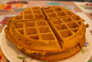 Тесто для вафель в вафельнице - фото шаг 5