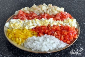 Салат из свинины и овощей - фото шаг 2