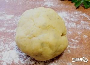 Пирог с сыром и зеленью - фото шаг 4