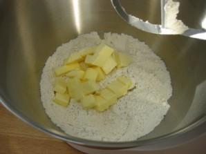 Тесто песочное для курника - фото шаг 4