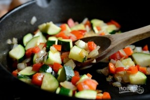 Фриттата с овощами и сыром - фото шаг 3