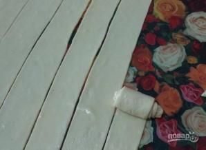 Дрожжевое тесто на пару - фото шаг 5