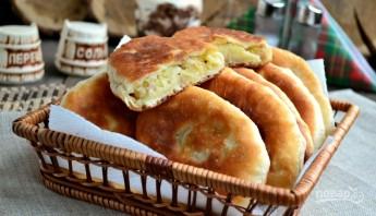 Жареные пирожки с мясом - фото шаг 8