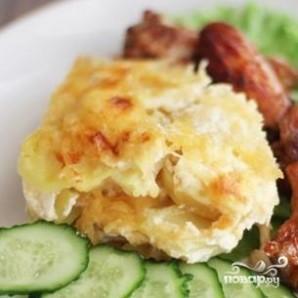 Картофельный гратен - фото шаг 5