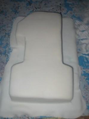 "Торт ""Единичка для мальчика"" - фото шаг 8"