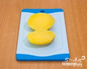 Картофель с творожным кремом - фото шаг 5