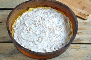 Яблочный пирог из песочного теста - фото шаг 9