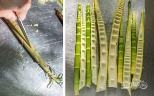 Маринованный бамбук - фото шаг 1