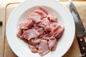 Свинина в кисло-сладком соусе с перцем - фото шаг 1