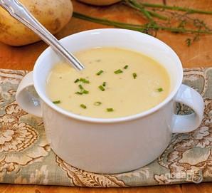 Суп с луком-порей - фото шаг 7