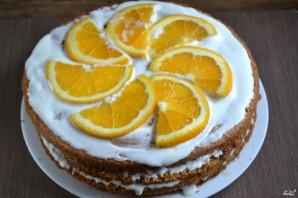 Апельсиновый торт  - фото шаг 6