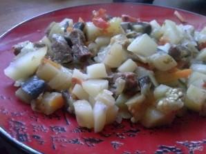 Рецепт мяса с овощами в рукаве - фото шаг 13