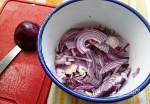 Салат из языка с огурцом - фото шаг 3