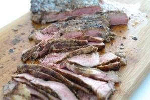Ромштекс из свинины на гриле - фото шаг 4