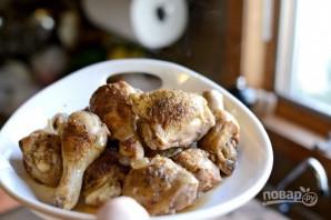 Тушёная курица с овощами - фото шаг 14