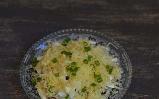 Салат Мужской каприз с говядиной и сыром - фото шаг 8