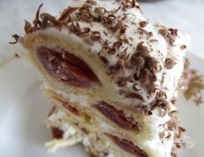 "Торт ""Вишневая горка"" - фото шаг 9"