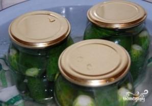 Огурцы консервированные болгарские - фото шаг 4