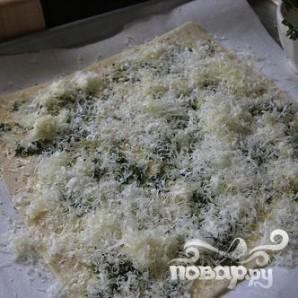 """Тарт """"Три сыра"""" с помидорами - фото шаг 4"""
