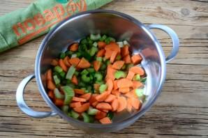 Густой томатный суп с фрикадельками - фото шаг 7
