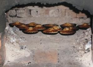 Шаньга со сметаной - фото шаг 3