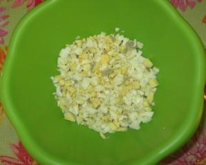 Салат с маслинами и курицей - фото шаг 1