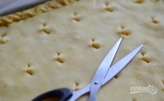 Лимонный пирог из дрожжевого теста - фото шаг 17